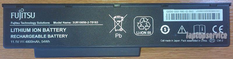 Батарея для ноутбуков Fujitsu-Siemens Amilo Li3910