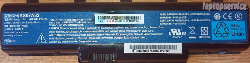 Батарея для ноутбука Acer Aspire 5740