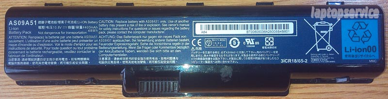 Батарея для ноутбуков Acer Aspire 5732