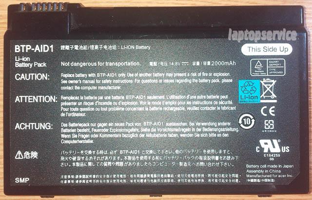 Батарея для ноутбуков Acer Aspire 3610
