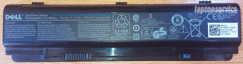 Батарея для ноутбука Dell Inspiron 1410