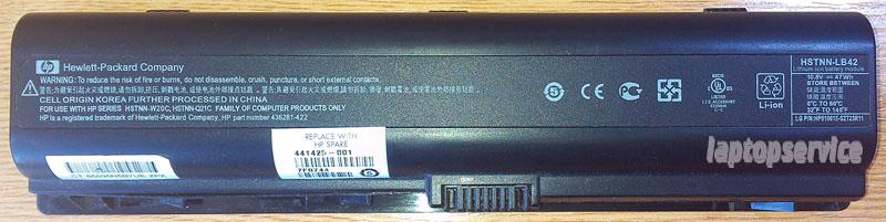 Батарея для ноутбука HP Pavilion dv6000