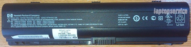 Батарея для ноутбуков HP Pavilion dv6100