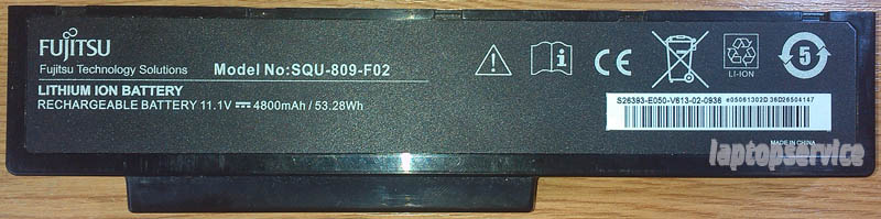 Батарея для ноутбуков Fujitsu-Siemens Li3560