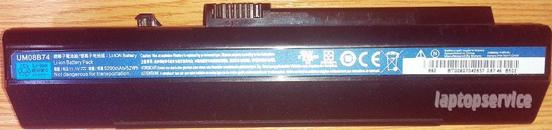 Батарея для ноутбуков Acer Aspire One 571