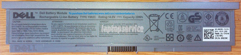Батарея для ноутбука Dell Latitude E4200