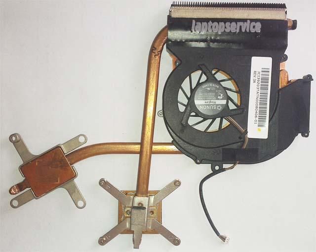 Система охлаждения ноутбука Acer Aspire 4520G