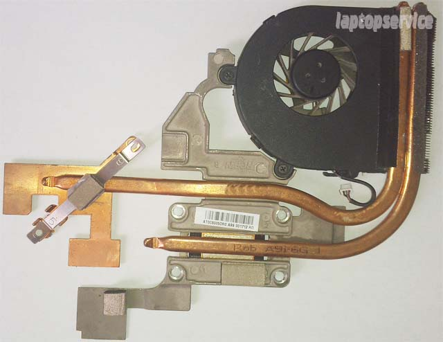 Система охлаждения ноутбука Acer Aspire 5551G