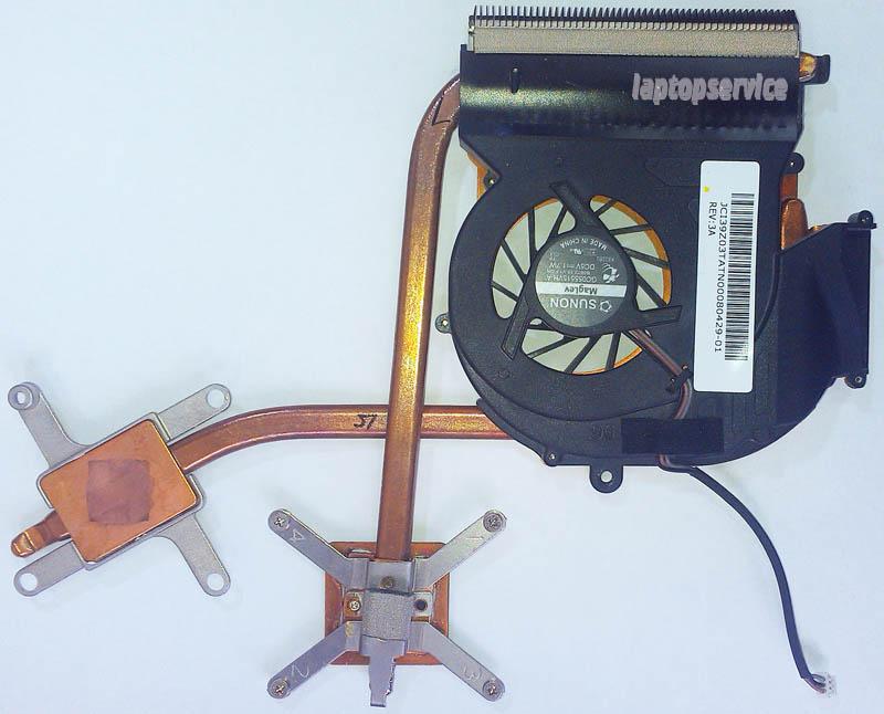 Система охлаждения ноутбука Acer Aspire 4520