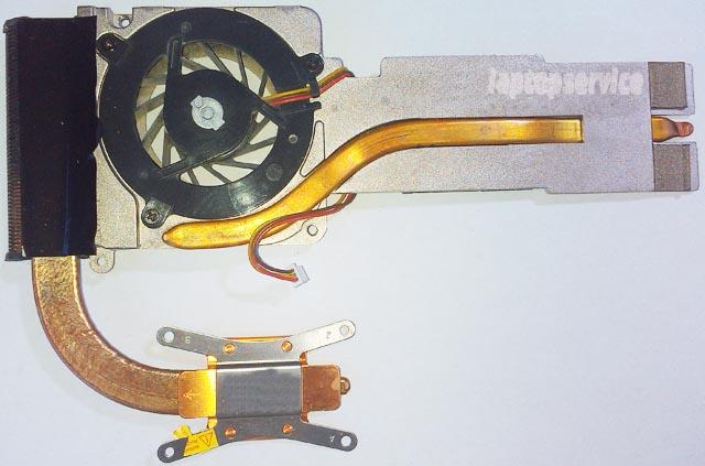 Система охлаждения ноутбука Asus V6000