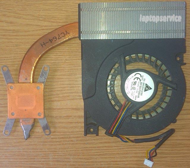 Система охлаждения ноутбука Asus X50M