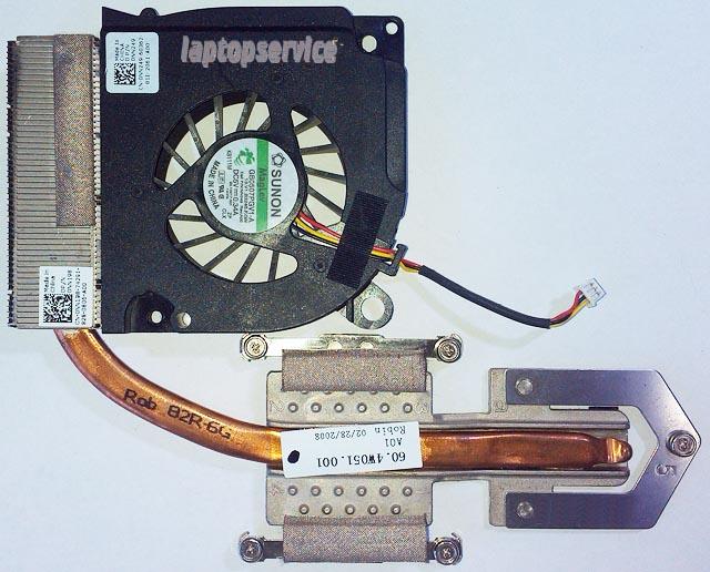 Система охлаждения ноутбука Dell Inspiron 1525