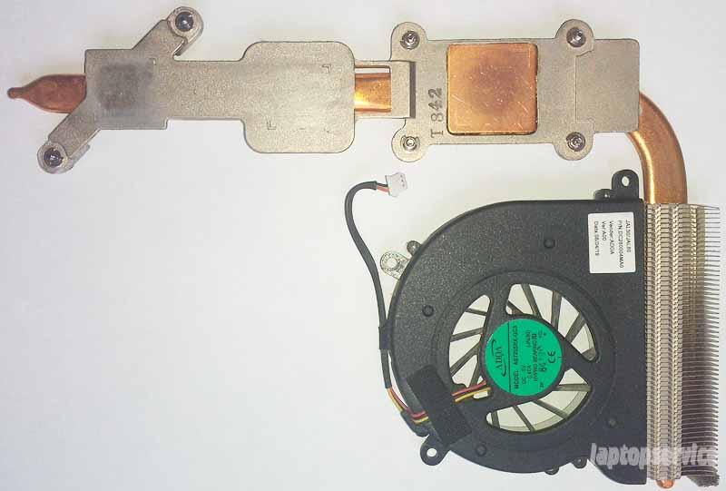 Система охлаждения ноутбука Dell Vostro 1510