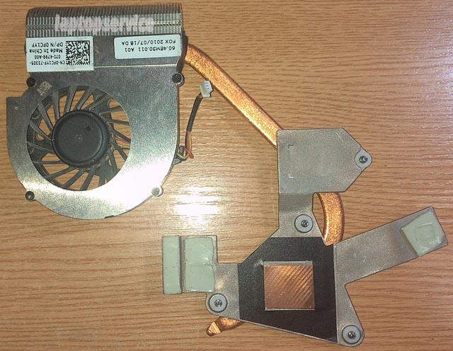 Система охлаждения ноутбука Dell Inspiron M5030