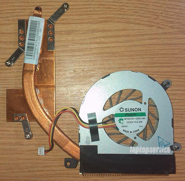 Система охлаждения ноутбука Lenovo Edge 13