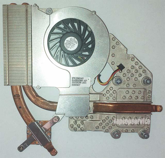 Система охлаждения HP ProBook 4515s Discrete