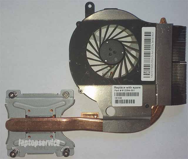 Система охлаждения ноутбука HP G62
