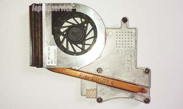 Система охлаждения ноутбука HP Pavilion dv2000