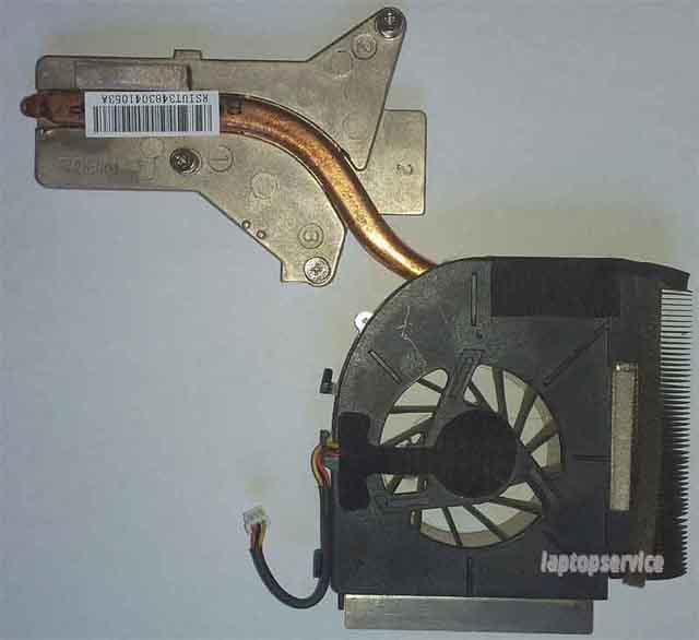 Система охлаждения ноутбука HP Pavilion dv6