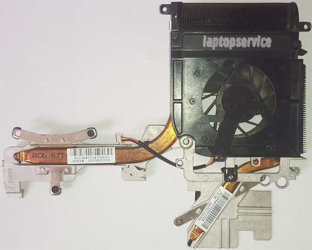 Система охлаждения ноутбука HP Pavilion dv9000