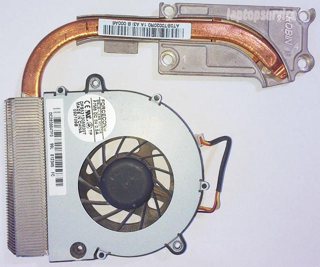 Система охлаждения ноутбука Lenovo G550