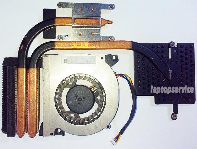 Система охлаждения ноутбука Lenovo Y510