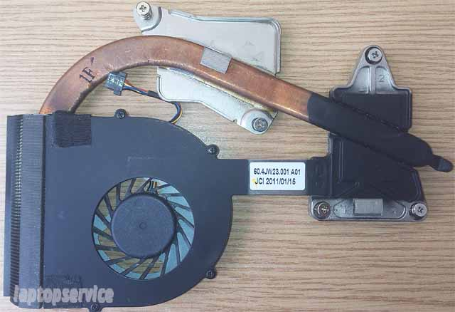 Система охлаждения ноутбука Lenovo B560