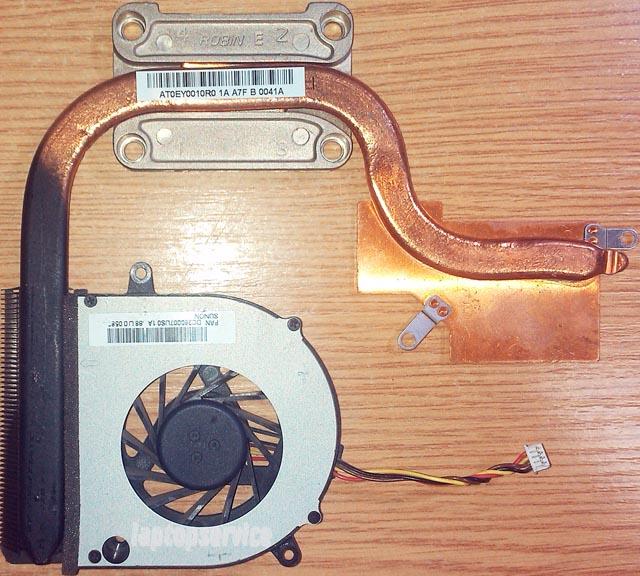 Система охлаждения ноутбука Lenovo G565