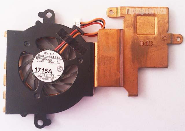 Система охлаждения ноутбука Samsung N148