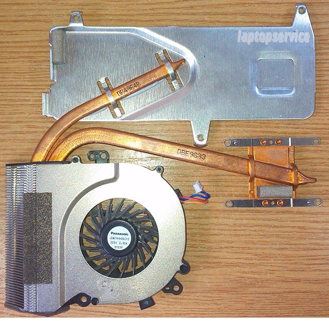 Система охлаждения ноутбука Sony VGN-NW280