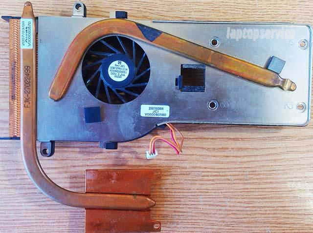 Система охлаждения ноутбука Toshiba Tecra A7