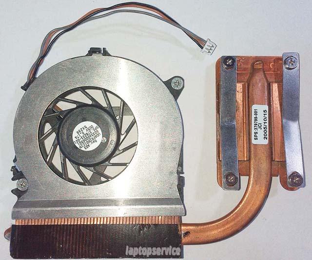 Система охлаждения ноутбука HP Compaq nx6110