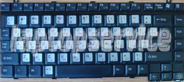 Клавиатура для ноутбука Toshiba Satellite A15