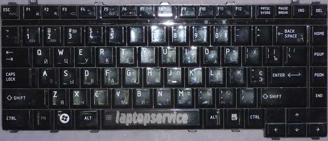 Клавиатура для ноутбука Toshiba Satellite M300