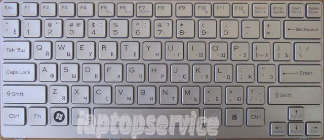 Клавиатура для ноутбука Sony VAIO VGN-CR41ZR