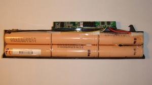 ноутбучная батарея из нутри