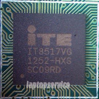 Прошивка мультиконтроллеров ITE - IT8517VG, IT8585E,  IT8586E, IT8587, IT8985