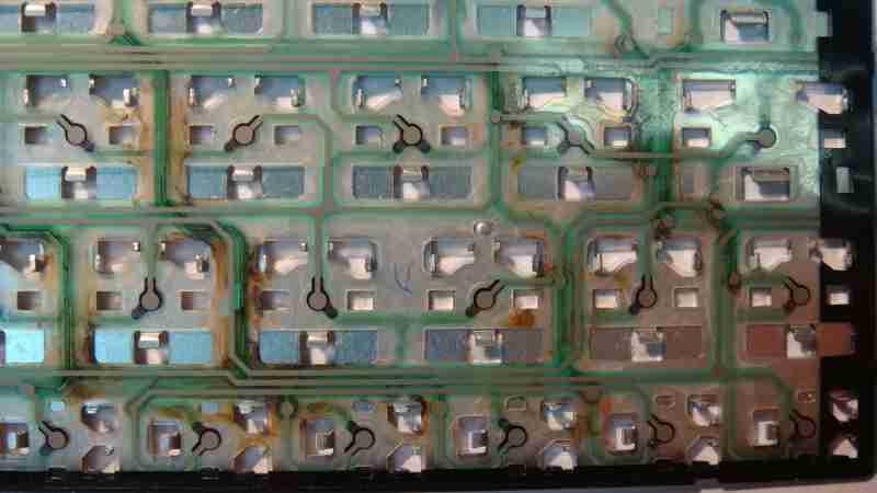 ремонт клавиатуры после залития