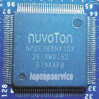 Прошивка мультиконтроллеров NUVOTON NPCE288 NPCE388