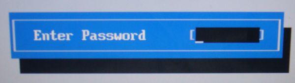 Снятие паролей BIOS ноутбука