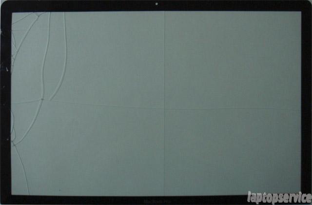Macbook Pro Замена защитного стекла матрицы